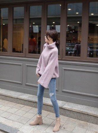 韓国の大人冬コーデ】流行りのレディースファッション2017
