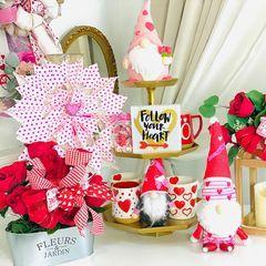 "Olivia's Romantic Home on Instagram: ""Sharing a DIY Dollar Tree deco mesh Valentine's wreath! Happy crafting! #valentinesday #dollartree #dollartreediy #dollartreevalentinesday…"""