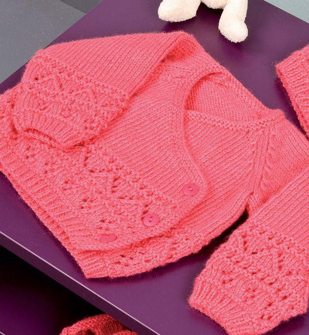 Mod le cache coeur point fantaisie mod les layette phildar tricot pinterest baby socks - Point fantaisie tricot phildar ...