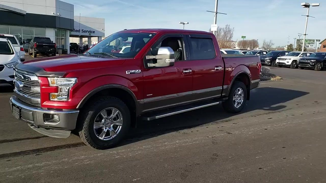 Used 2015 Ford F 150 4wd Supercrew 145 At Central Buick Gmc Used