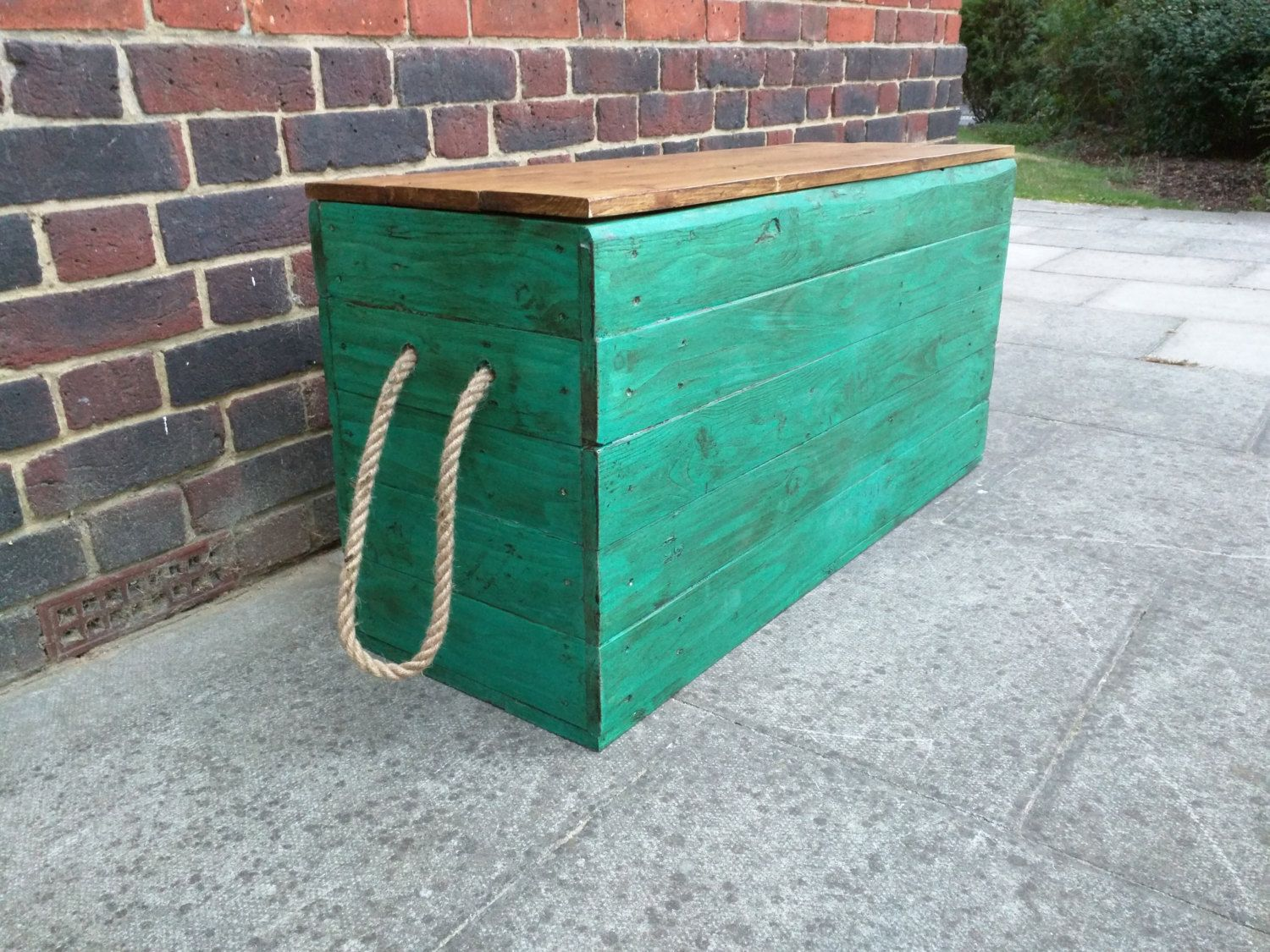 Rustic Storage Trunk Chest Hope Box Toy Box Handmade from Reclaimed Wood by TimberWolfFurniture on Etsy