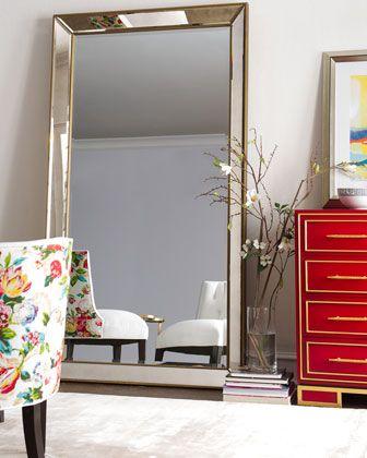 Aldina Beaded Floor Mirror | For New Home | Pinterest | Floor mirror ...