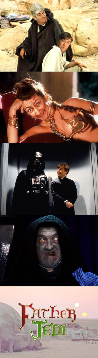 Father Jedi - Father Ted and Star Wars mashup!