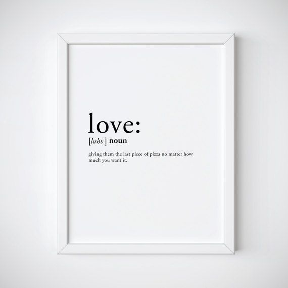 love definition love print dictionary print valentines