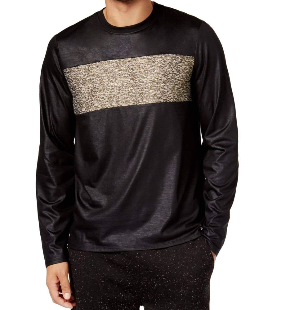 Space T Shirts Ideas Spaceshirts Spacetshirts Guess New Black Gold Mens Size 2xl Shimmer Space Dyed Tee T Shirt Long Sleeve Tshirt Men Space Shirts New Black [ 1000 x 935 Pixel ]
