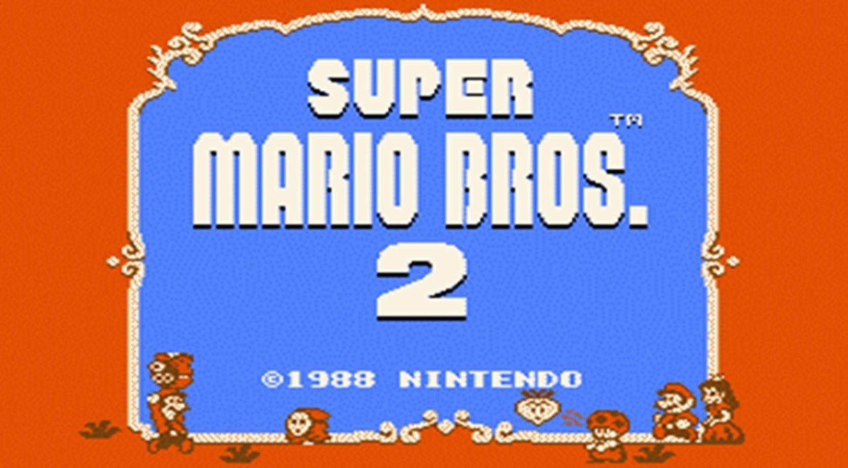 Super Mario Bros 2 Usa Mario Madness Nes Hd Complete