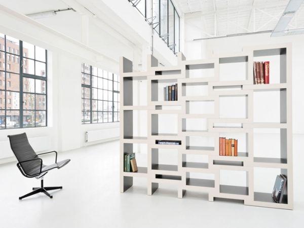 minimalistische Designer Möbel \u2013 der Bücherregal von Renier de Jong - designer mobel bucherregal