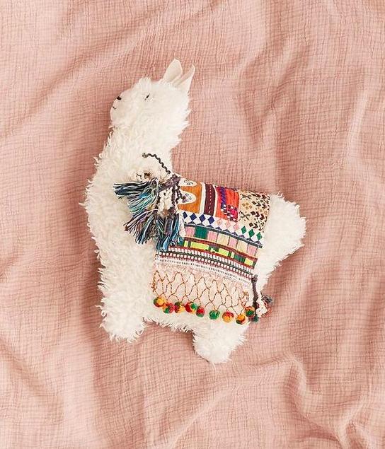 urban outfitters llama pillow llama