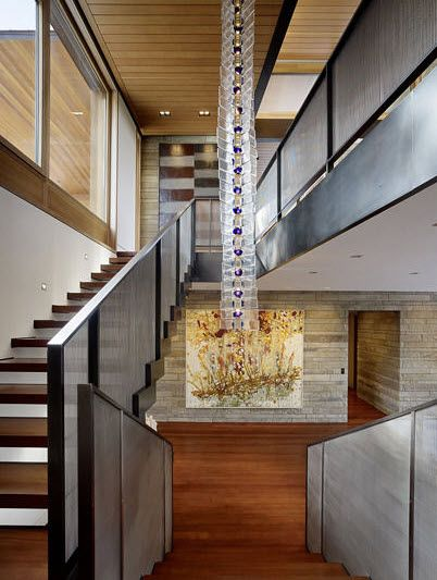 Dise o de interiores inspiradores pinterest altillo for Escaleras decorativas de interior