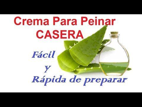 Crema Para Peinar Casera Facil De Sabila Y Aceite De Coco Yoliana Gamboa Cremas Para Peinar Aceite De Coco Cremas