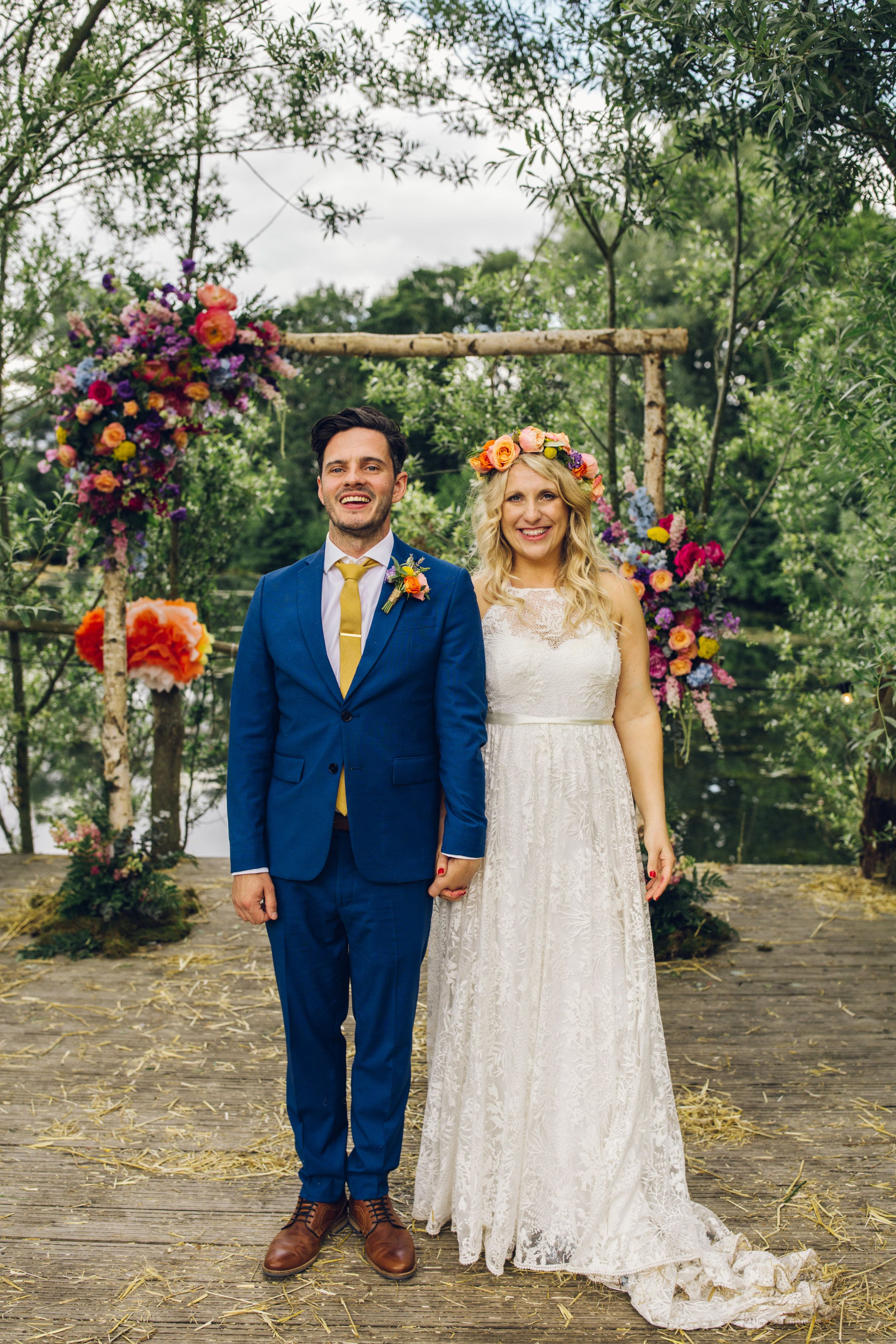 Quirky Natural Outdoor Festival Wedding: How To Plan Your Festival Wedding