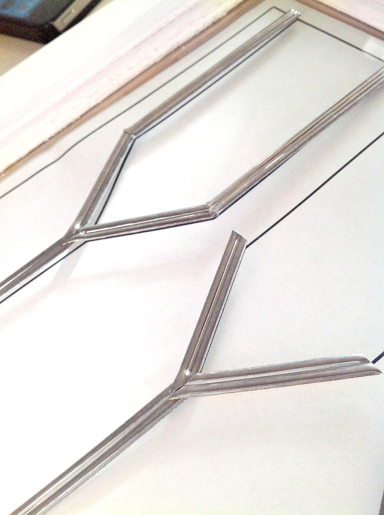 Diy Faux Leaded Glass Cabinets Leaded Glass Cabinets Leaded Glass Glass Windows Diy