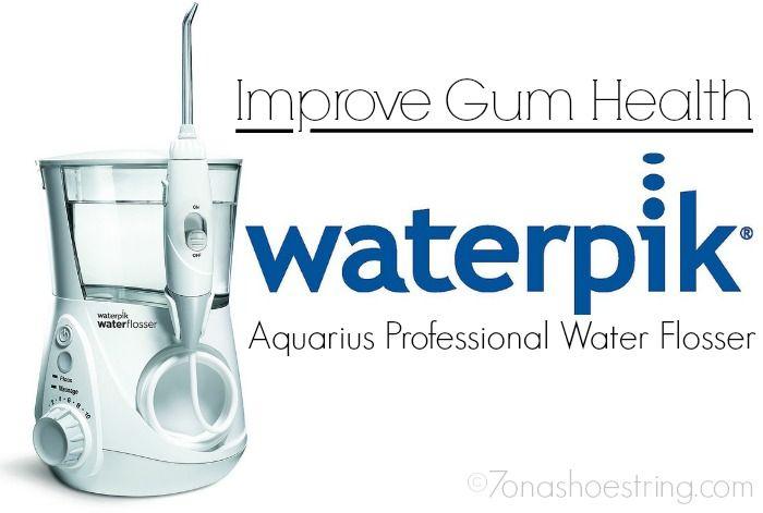 Improve Gum Health With Waterpik Water Flosser Newageinwaterflossing Ad Gum Health Water Flosser Gum Care