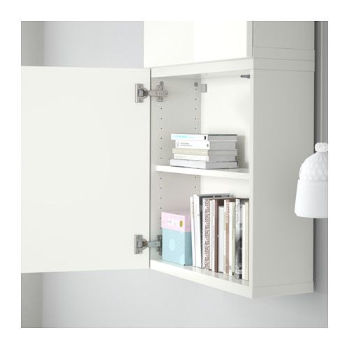 BESTÅ Wall cabinet with 2 doors | High gloss, Doors and Walls
