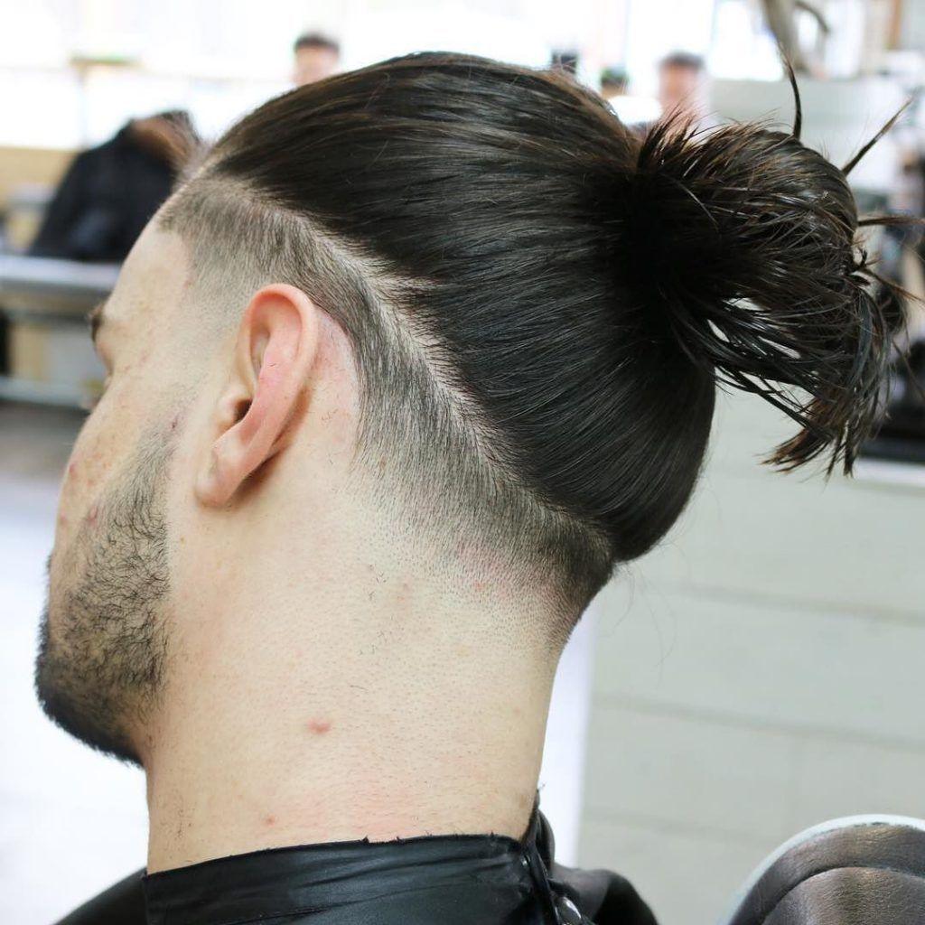 メンズ 髪型 ロン毛 ツーブロック 結び方 Ad Hairstyle1 ご覧頂き