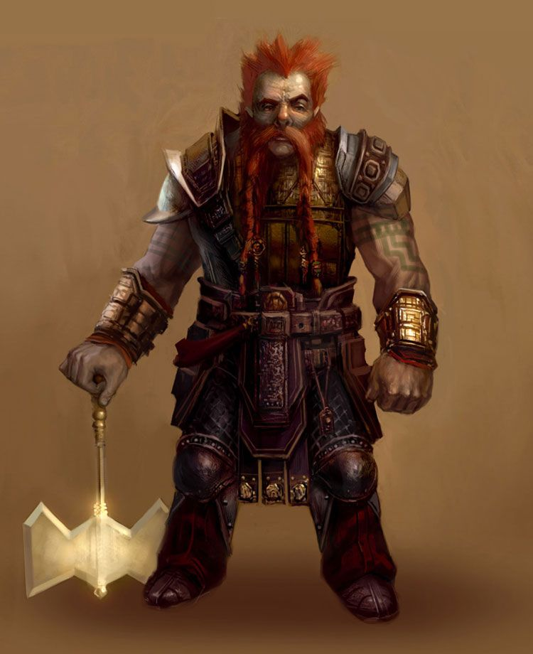 Dragon Age Dwarf Concept Art