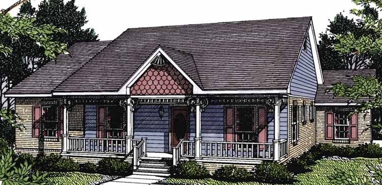 Victorian Style House Plan 3 Beds 2 Baths 1463 Sq Ft Plan 14 131