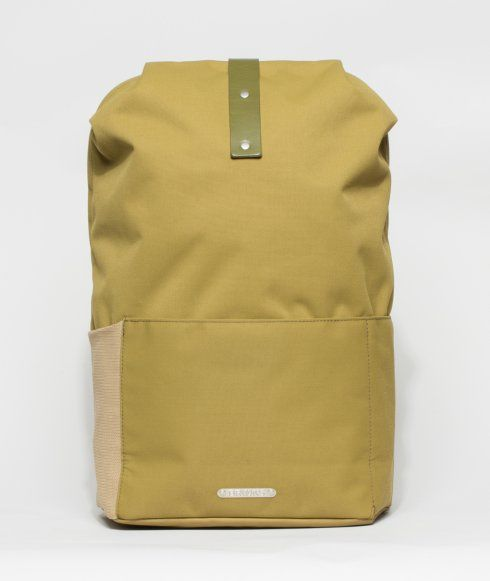 2b6cef5114 The Dalston Utility Pack from Brooks England is manufactured in Italy from  bluesign standard waterproof textile and genuine vegetable-tanned leather.