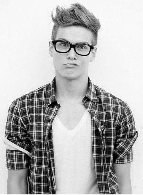 Sigh Cute Nerds Are Hard To Find Hipster Haircut