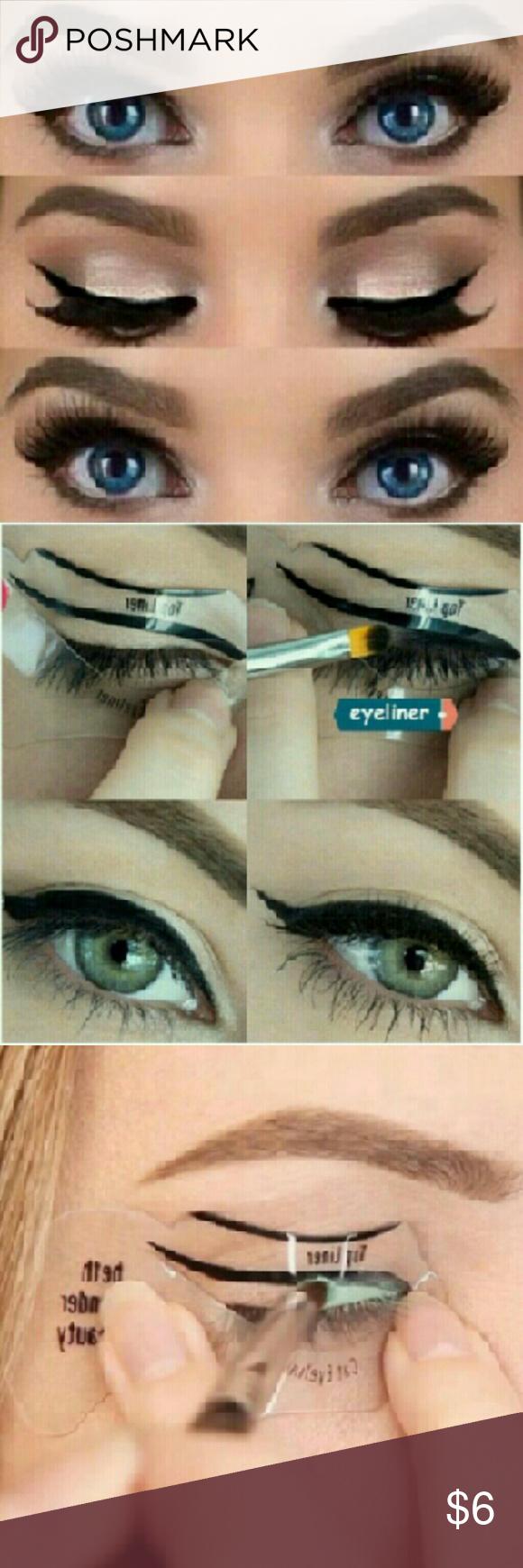 7 style in 1 set Quick Makeup Cat Eyeliner Smokey