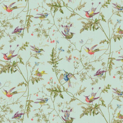 Cole & Son HUMMINGBIRDS RUBAN Wallpaper | Home is whenever I\'m with ...