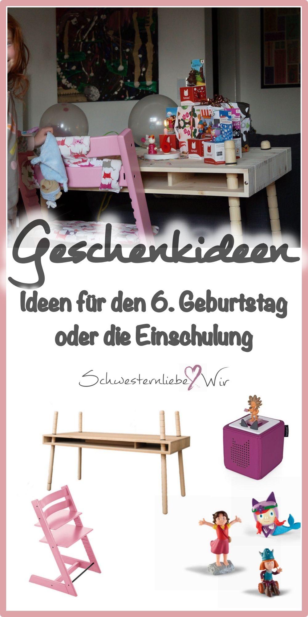 6. Geburtstag // Geschenkideen für Vorschüler | Leben mit Kindern ...