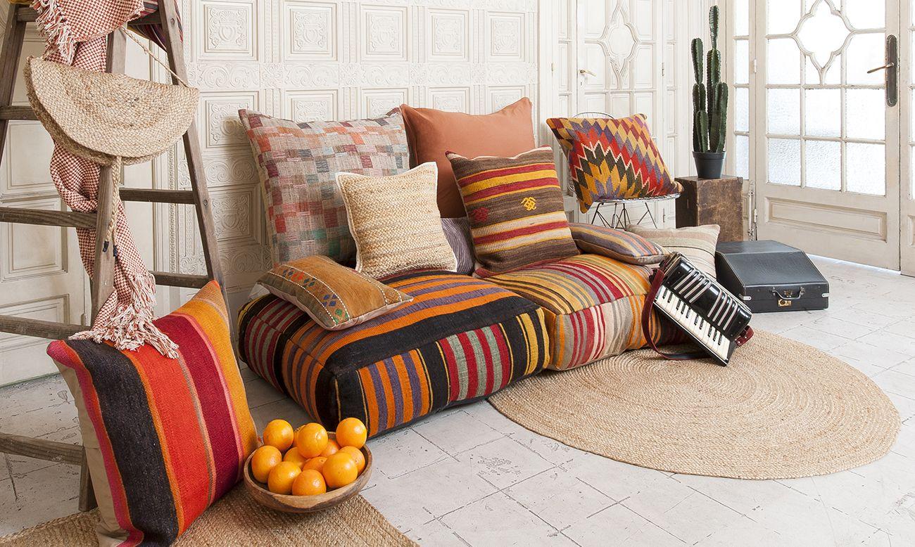 Cojines kilim dise o de interiores estilo marroqu - Cojines de diseno ...