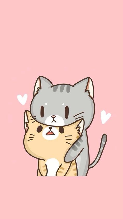 Cute Cats In Love Cat Phone Wallpaper Cat Wallpaper Cute Cat Wallpaper