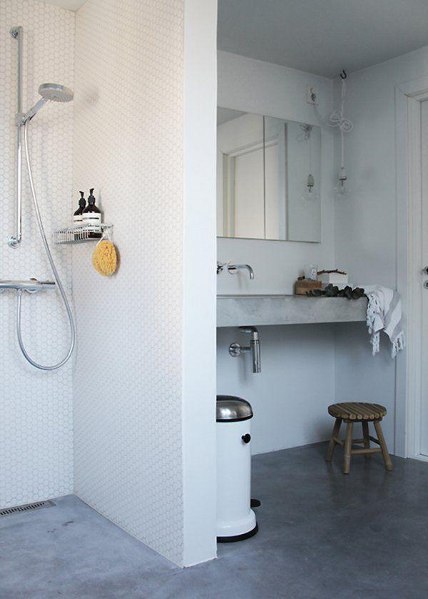Douche italienne  tous les styles de douche ouverte Interiors and