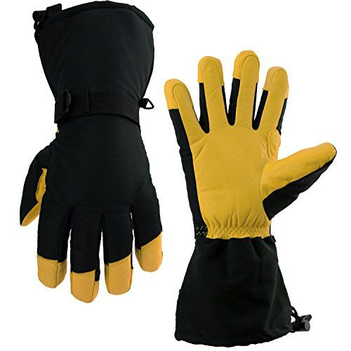 Winter Gloves Ozero 40f Cold Proof Thermal Ski Glove For Men Women 150g 3m Thinsulate Insulat Waterproof Gloves Gloves Winter