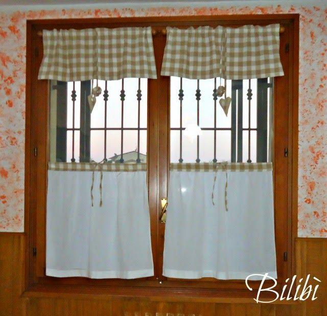 Bilibì: Tendine per cucina | progetti | Pinterest | Curtain ideas ...