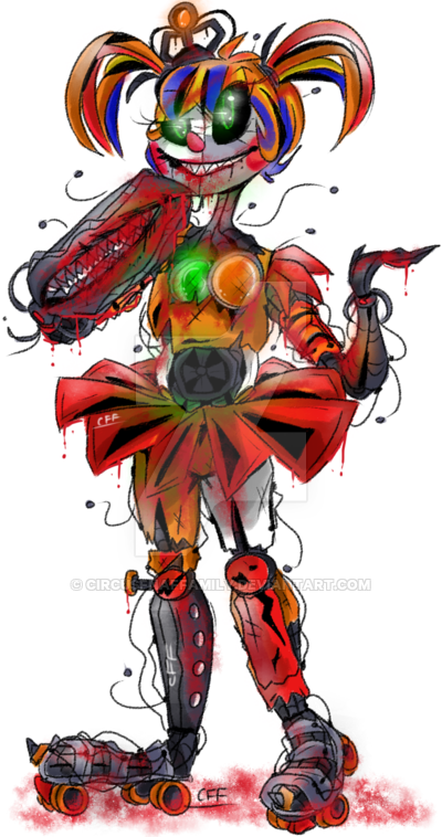 Scrap Baby Fnaf Coloring Pages The Best Circus Baby Fnaf