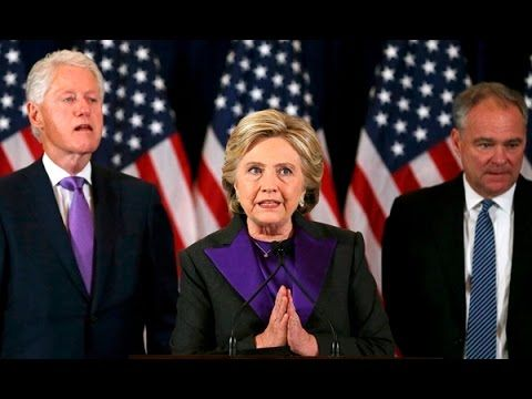 Hillary Clinton Gives Concession Speech After Trump Win