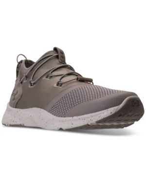 f527d57fa1c2 Under Armour Boys  Cinch Running Sneakers from Finish Line - Brown ...