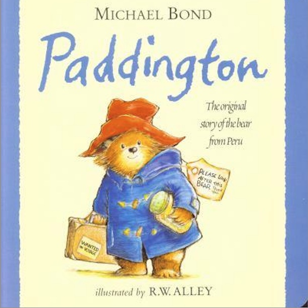Paddington Children's Board Book - This board book is the original story of everyone's favourite bear Paddington. It follows his adventures from Darkest Peru to living with the Brown family in London. A classic book that should be read by everyone, whatever the age!