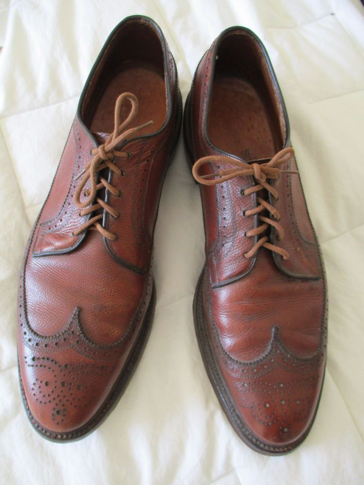 CHURCH'S Brown Dress Shoes Mens Sz UK 10.5A in Leather Oxfords