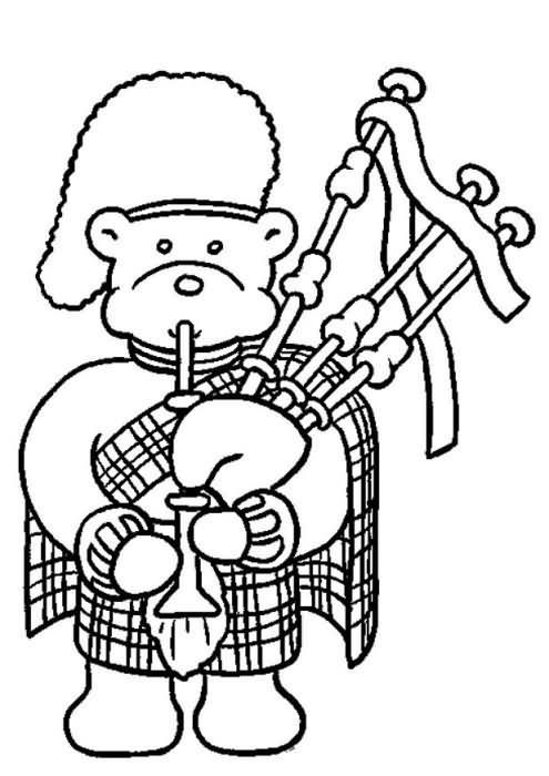 Dibujos para Colorear Miscellaneous 41 | Scottish crafts | Pinterest ...