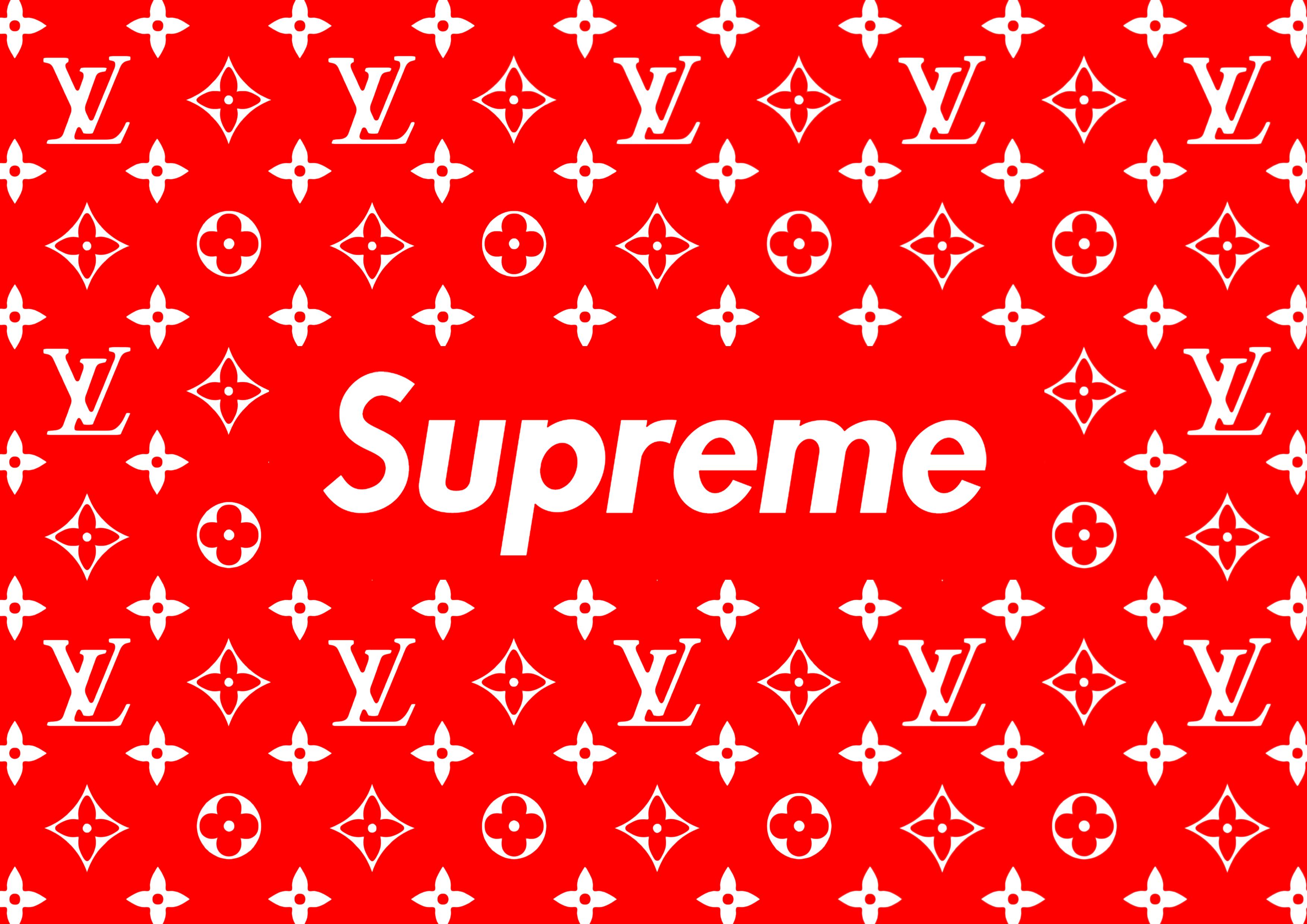 Logo Gucci Supreme Louis Vuitton Wallpaper
