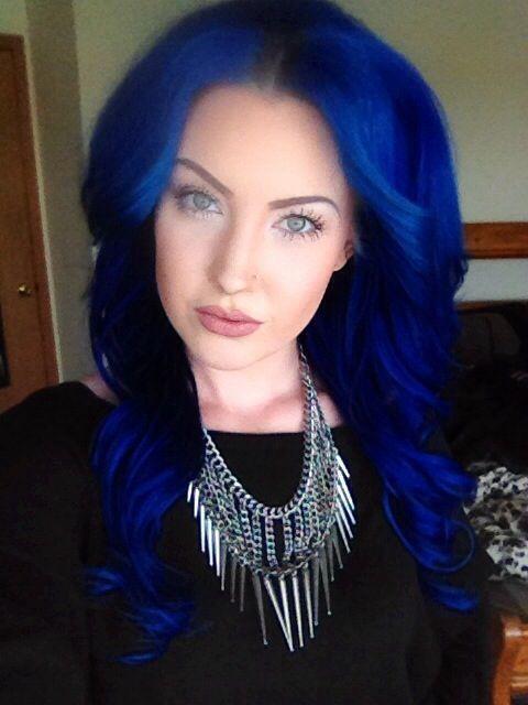 Custom pravana blue vivids and pastel mix on myself hair hair coloring solutioingenieria Images