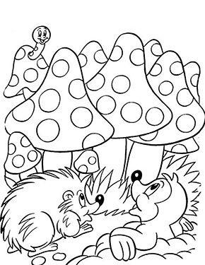 Ausmalbilder Ostern Maulwurf Und Igel Ausmalbilder Malvorlagen Tiere Kostenlose Ausmalbilder