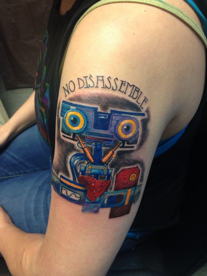 Short Circuit 2 Arm Tattoo Artist Courtney Vice Johnny 5 Shortcircuit2