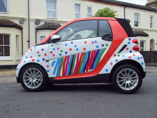Have your very own clown car! | Smart car, Smart fortwo, Cute cars