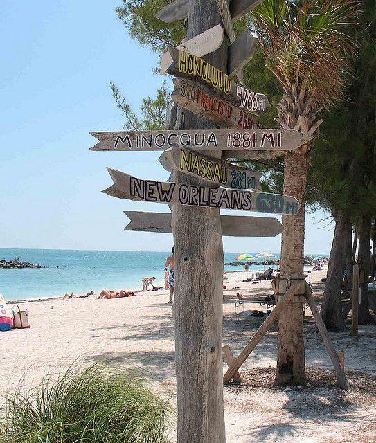 Minocqua Sign in Key West
