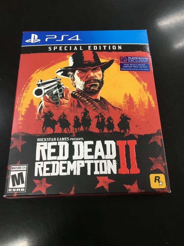 Red Dead Redemption 2 Special Edition Playstation 4 Brand New Reddeadredemption Gaming Xboxone Red Dead Redemption Playstation Playstation 4