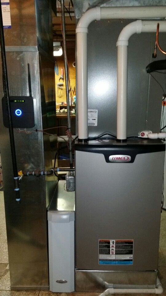 Lennox El296v Installed With S30 Icomfort Control System In