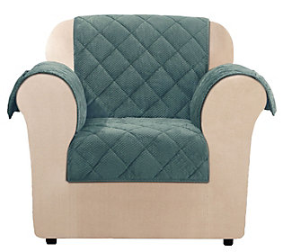 Strange Sure Fit Chair Textured Pique Waterproof Furniture Cover Pdpeps Interior Chair Design Pdpepsorg
