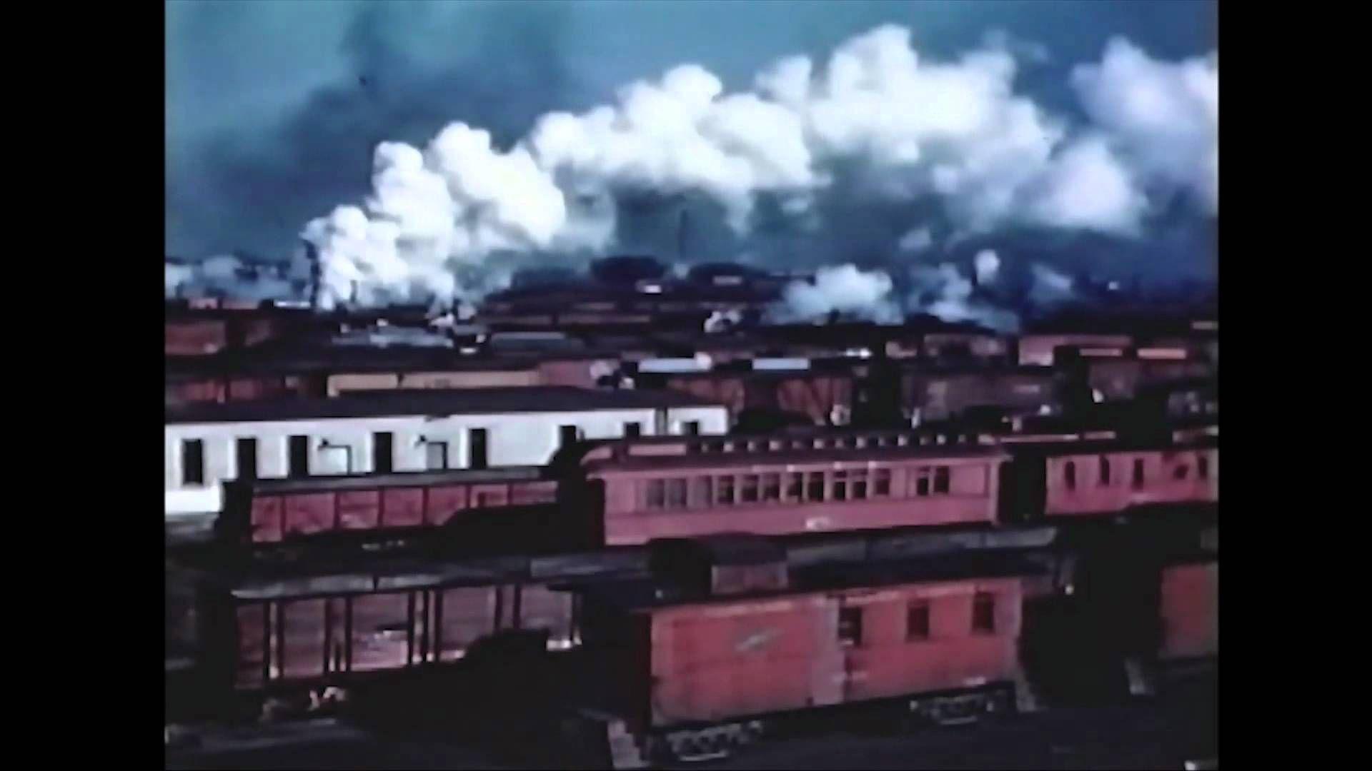 "1940's American Trains in War Effort ""Lifeline of the Nation"" - Associat..."