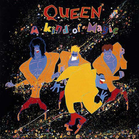 Highlander With Images Queen Albums A Kind Of Magic Queen Album Covers