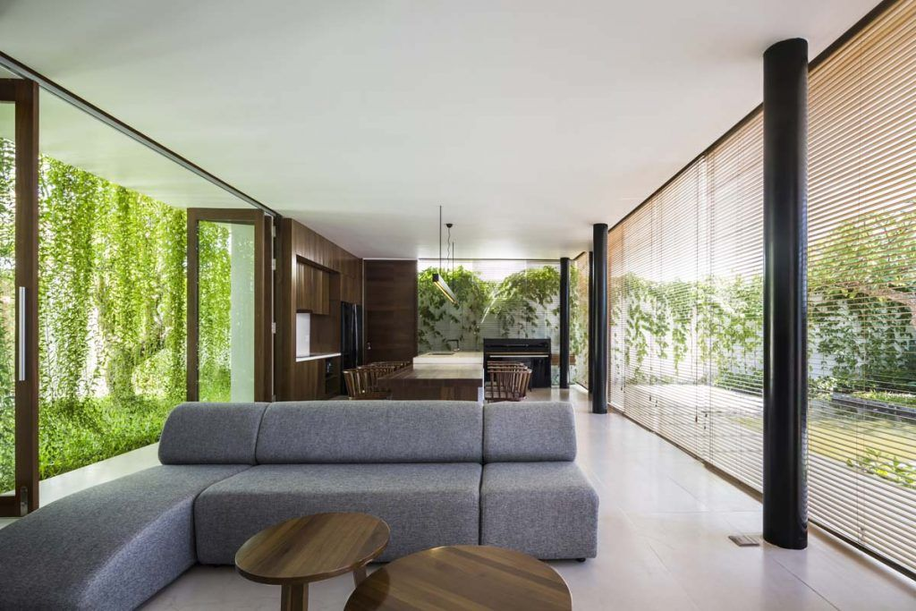 Home designing open nature   window with this greenery surrounded vietnamese https also rh pinterest