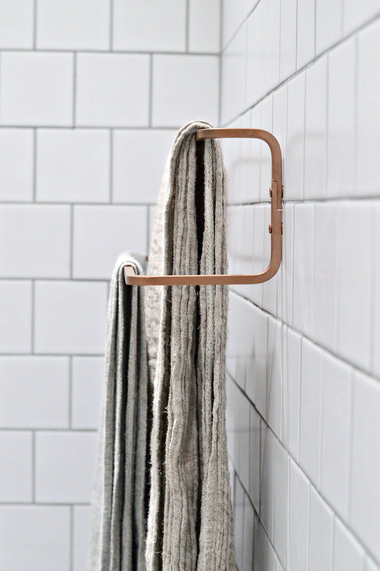 10 Minute Diy Ikea Towel Rail Hack